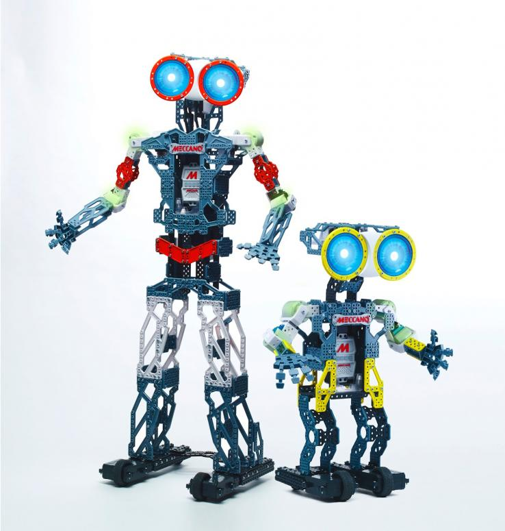 les nouveaux jouets meccano les robots meccanoids. Black Bedroom Furniture Sets. Home Design Ideas